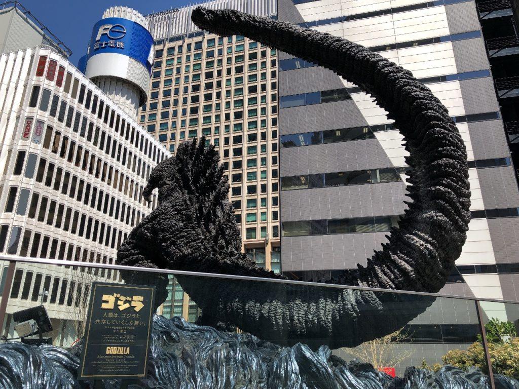 「シン・ゴジラ」「ゴジラ」が、「東京ミッドタウン日比谷」で一番印象的だった件